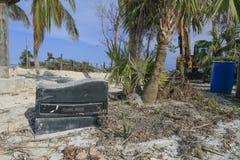 Florida Keys Overseas Heritage Trail after Hurricane Irma Stock Image