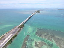 Florida Keys overseas highway Stock Photo