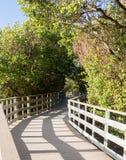 Florida Keys raised walkway Stock Photography
