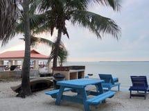 Florida Keys scenery. Idyllic coastal scenery at the Florida Keys in USA at evening time royalty free stock images