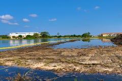 Florida konstruktionsprojekt under blåa himlar Arkivfoton