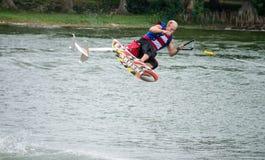 florida legoland pokazywać narciarstwo wodę fotografia royalty free
