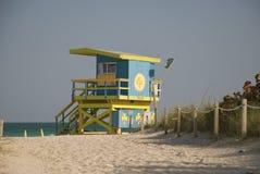 Florida life guard hut Royalty Free Stock Photos