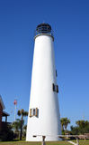 Florida lighthouse and clear blue sky. A photo of a lighthouse with blue sky Stock Image