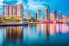 florida linia horyzontu Tampa zdjęcia stock
