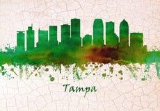 florida linia horyzontu Tampa royalty ilustracja