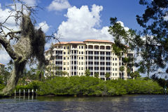 Florida Luxury Condos Royalty Free Stock Photography