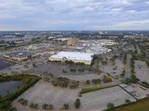 Florida Mall Orlando FL. ORLANDO - DECEMBER 5: Aerial image of the Florida Mall located at 8001 S Orange Blossom Trail near Orlando`s theme park tourist Royalty Free Stock Photos