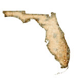 Florida Map Stock Photos