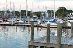 A Florida Marina Stock Image
