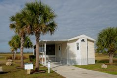 Florida mobile home  Stock Photo