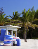 florida nadmorski stojak zdjęcie royalty free