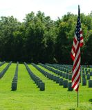 Florida National Cemetery Stock Images