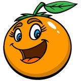 Florida Orange Cutie Stock Photos
