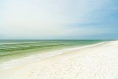 Florida Panhandle beach. Beautiful North Florida panhandle beach stock photography