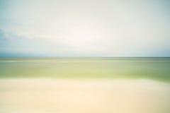 Florida Panhandle beach. Long exposure of a beautiful North Florida panhandle beach stock photo