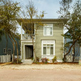Florida Panhandle Home. Seaside, FL USA - March 29, 2016: Beautiful vacation home in the North Florida panhandle coastal community stock photography