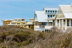 Florida Panhandle Homes. Beautiful homes along the North Florida panhandle coast royalty free stock photography