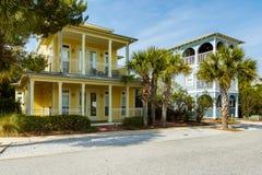 Florida Panhandle Homes stock photography