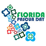 Florida Pascua day Stock Image