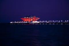 florida Petersburg mola st Obrazy Royalty Free