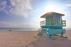 florida plażowi południe Miami fotografia royalty free