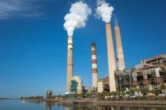 Florida power plant Stock Image