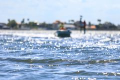Florida recreational boating Stock Image