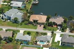 Florida residenziale Fotografia Stock Libera da Diritti