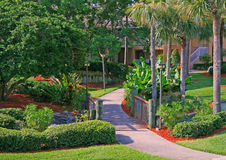 Florida Resort. Tropical Resort located in Orlando, FL stock image