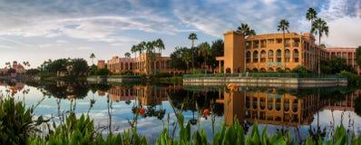 Florida Resort. A resort in beutiful florida during summer Royalty Free Stock Photo