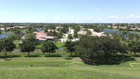 Florida returnerar panoramautsikt arkivfilmer