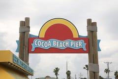 Florida`s Cocoa Beach Royalty Free Stock Photos