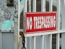 Florida, sinal proibido Imagens de Stock