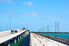 Florida sluit Bruggen Royalty-vrije Stock Foto's