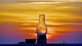 Florida solnedgång arkivfoton