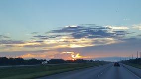 Florida soluppgång Arkivfoton