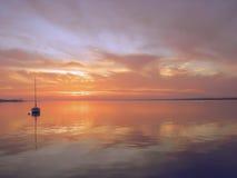 Florida-Sonnenuntergang Stockfoto