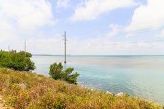 Florida stämmer kustlinjen Royaltyfri Fotografi