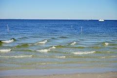Florida st petersburg beach: wave pattern Royalty Free Stock Image