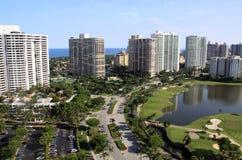 Florida-Stadt-Skyline Stockbild