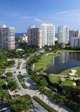 Florida-Stadt-Skyline 2 Stockfotografie