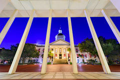 Florida State Capitol. Tallahassee, Florida, USA at the historic Florida State Capitol Building Stock Photos