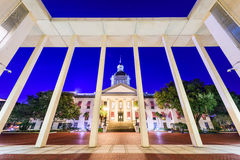 Florida State Capitol. Tallahassee, Florida, USA at the historic Florida State Capitol Building Stock Photography