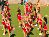 Florida State Cheerleaders Royalty Free Stock Image