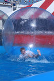 Florida State Fair: Boy in the Bubble Stock Image