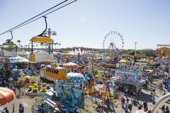 Florida State Fair, Carnival Stock Images