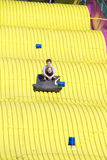 Florida State Fair: On the Great Slide Stock Photo