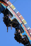 Florida State Fair: Hanging upside down Stock Image