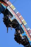 Florida State Fair: Hanging upside down stock image